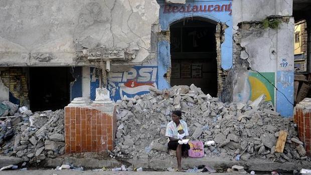 Una imagen del terremoto de Haití, ocurrido en el año 2010