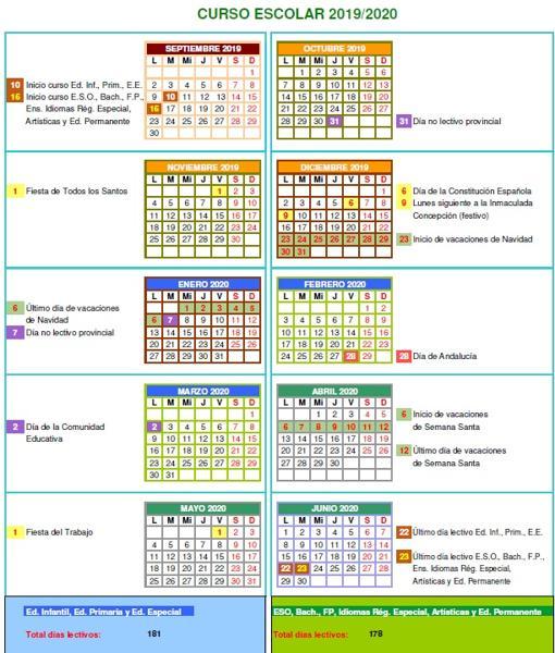 Calendario 1932 Espana.Conoce El Calendario Escolar Para El Proximo Curso 2019 2020