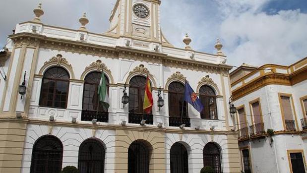Fachada del Ayuntamiento de Morón de la Frontera