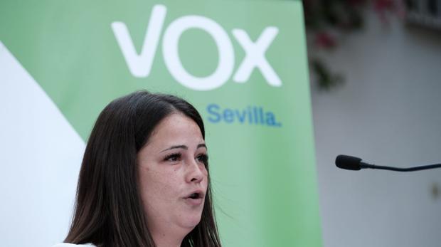 La portavoz de Vox en la alcaldía de Bormujos Carmen Cariciolo