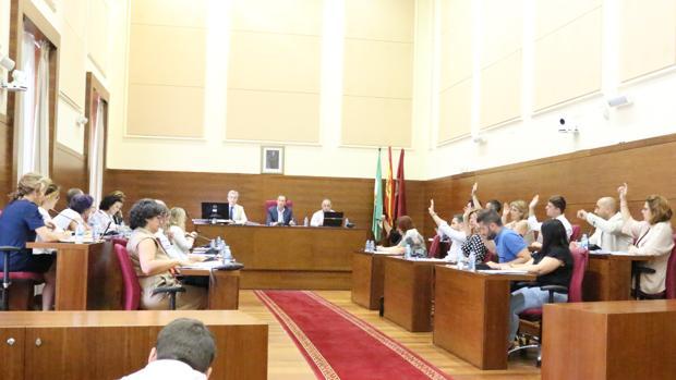 Imagen del Pleno celebrado este martes.