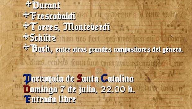 Concierto de música sacra a cargo de Bravissimo Music Lab