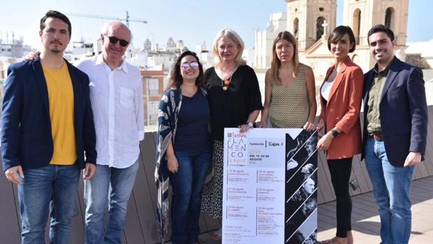 Presentación oficial del III Estival Flamenco de Cádiz en la Fundación Cajasol.