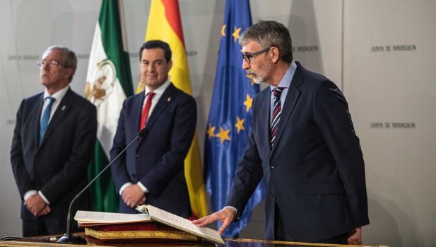 Toma de posesión de Francisco Piniella como rector de la Universidad de Cádiz (UCA)