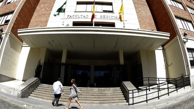 Facultad de Medicina en Cádiz.