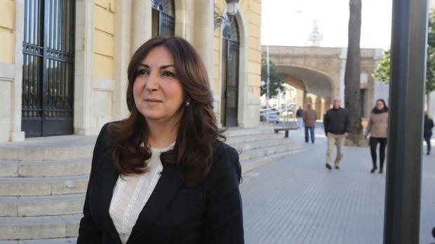 Eva Corrales, en Cádiz