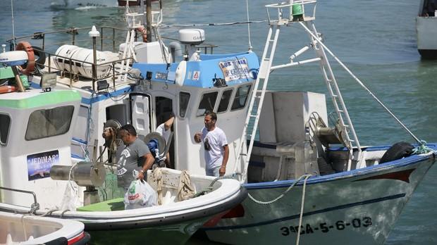Pescadores de Conil