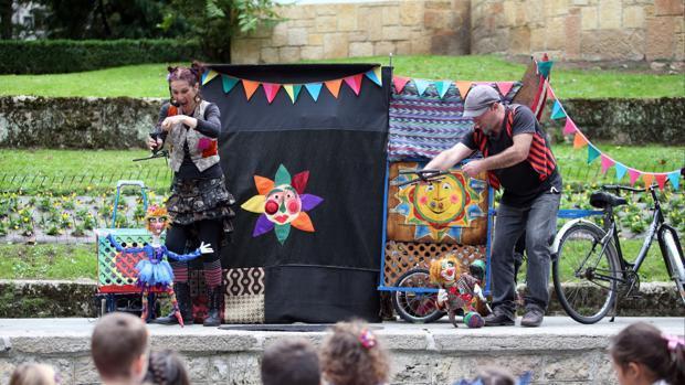 El festival de títeres se desarrollará hasta el 29 de agosto
