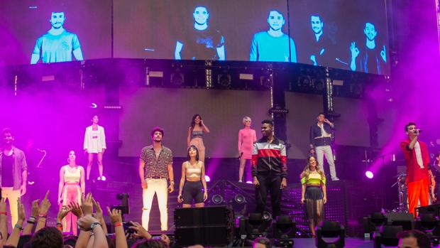Los concursantes de OT 2018 se dan cita en Cádiz.
