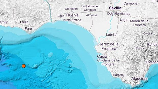 Es el quinto terremoto que tiene lugar en el Golfo de Cádiz en lo que va de mes de agosto