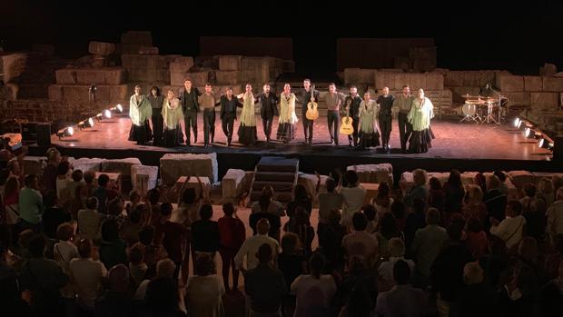 'Naturalmente Flamenco' llenó el aforo en su actuación del jueves, 29 de agosto, y tiene previsto completarlo durante este fin de semana.