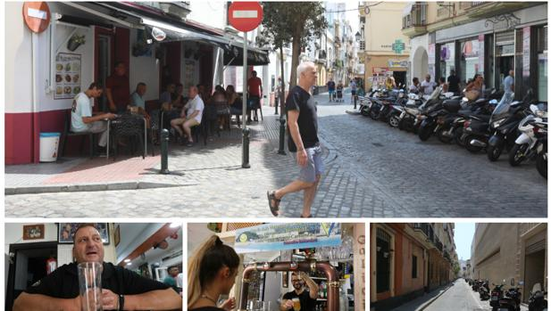 Amigos , bares y negocios que frecuentaba Manolo Santander en el barrio de La Viña.