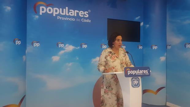 Carmen Sánchez es concejala del PP y portavoz provincial de este partido.