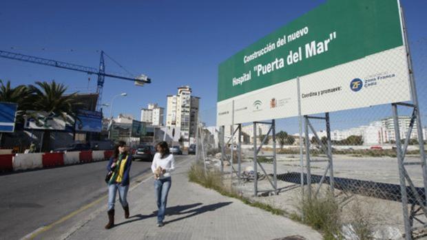 Terrenos donde iría construido el nuevo Hospital.