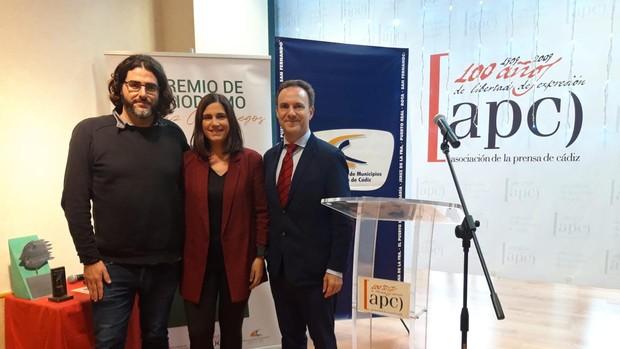 La periodista de LA VOZ Nuria Agrafojo