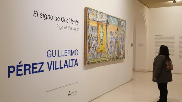 Clausura de la exposición de Guillermo Pérez Villalta en el Museo de Cádiz