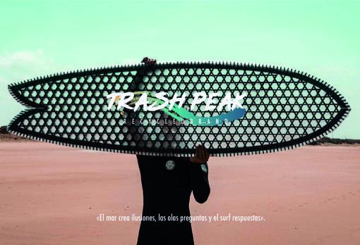 Una impresora 3D fabricará tablas de surf con material reciclado del mar.