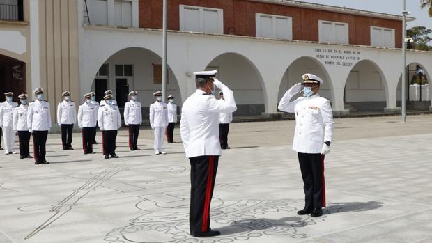 El Cuartel General de la Fuerza de Infantería de Marina tiene nuevo Jefe de Estado Mayor