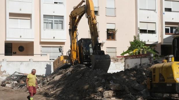 Termina el derribo del chalé de la Porteña, en Bahía Blanca, para una promoción de viviendas
