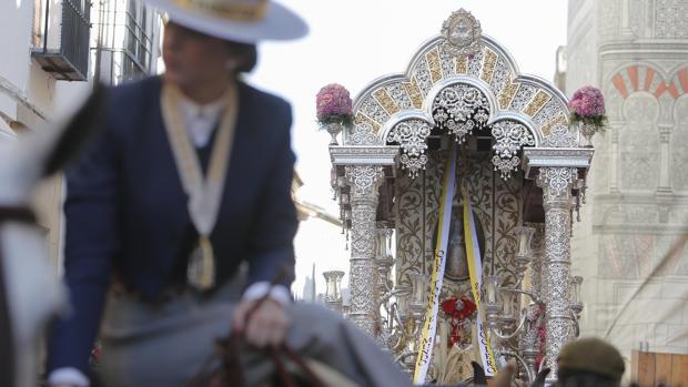 Salida de la hermandad de Córdoba