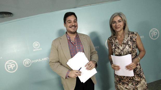 José Luis García y Patricia del Pozo