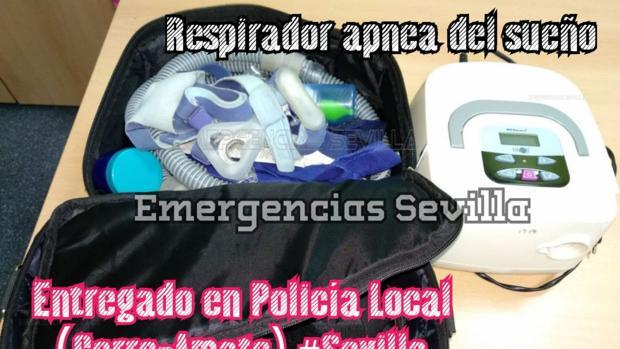 Llamamiento realizado en el perfil de Emergencias Sevilla