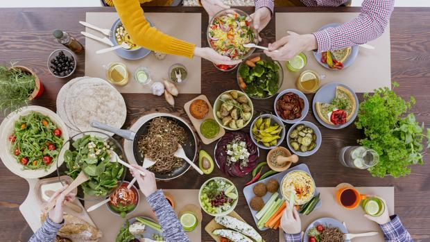 Menú mediterráneo para toda la familia