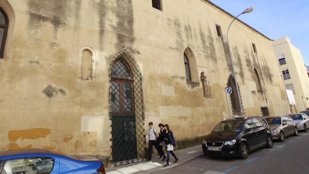 El convento de San Agustín, cerca de la Puerta de Carmona