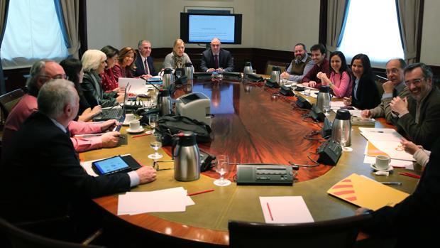 Reunión de la Subcomisión que ha intentado consensuar el Pacto por la Educación