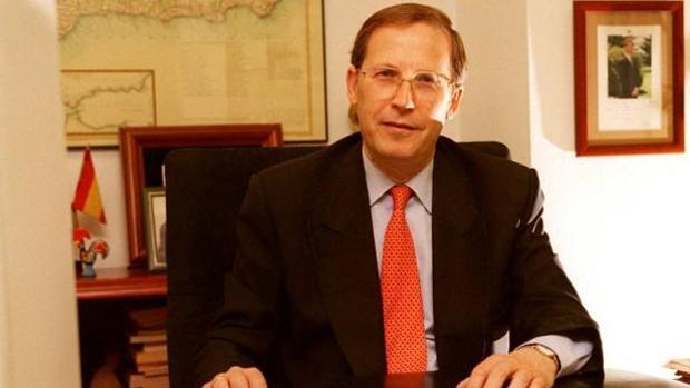 Melchor Sáiz-Pardo, en su despacho, en 1998