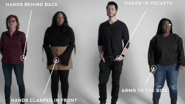 Gestos para interpretar el lenguaje corporal de una persona