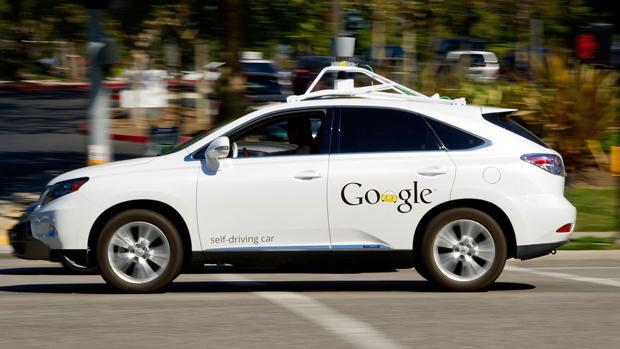 Un coche sin conductor de Google