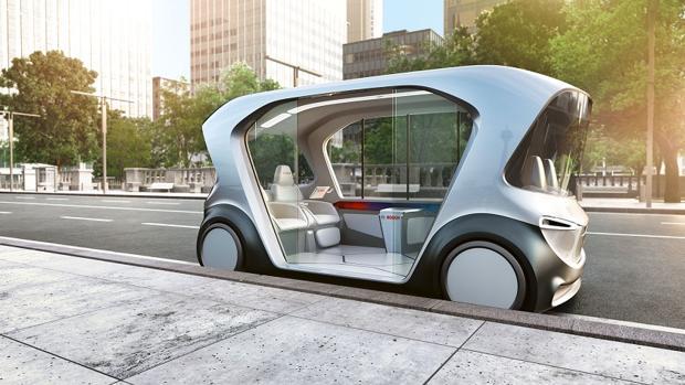El vehículo 'concept' de Bosch para un nuevo tipo de movilidad