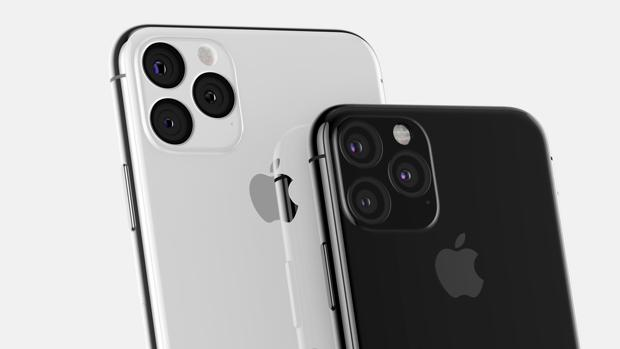 Posible trasera del iPhone 11