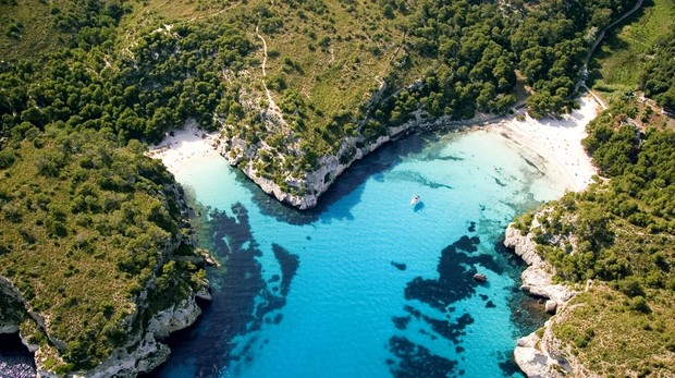 Cala Macarella y cala Macarelleta, en Menorca
